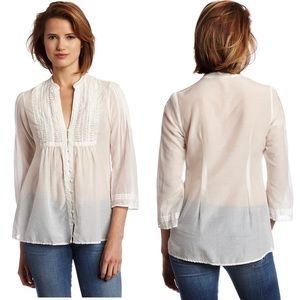 Joie Smocked Front Blouse